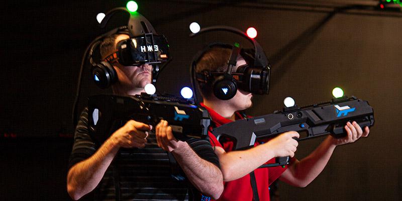FEG has pioneered free roam virtual reality with Zero Latency