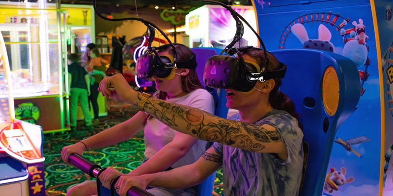Play VR Rabbids at Walther's Golf & Fun