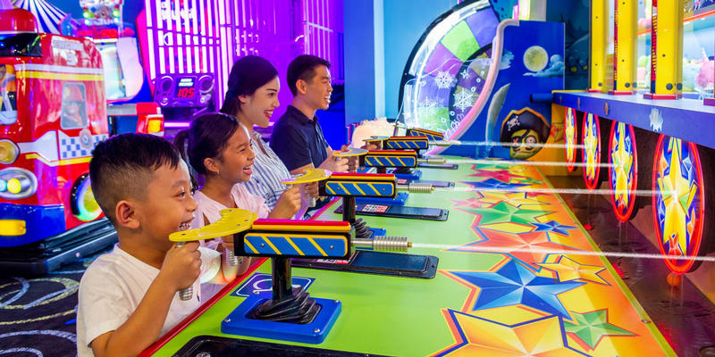 Play games with your family at The Grove Resort & Spa