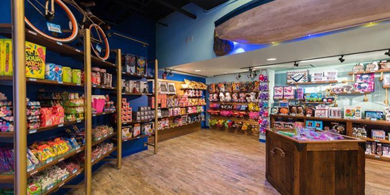 Walk in merchandise redemption stores custom built by FEG