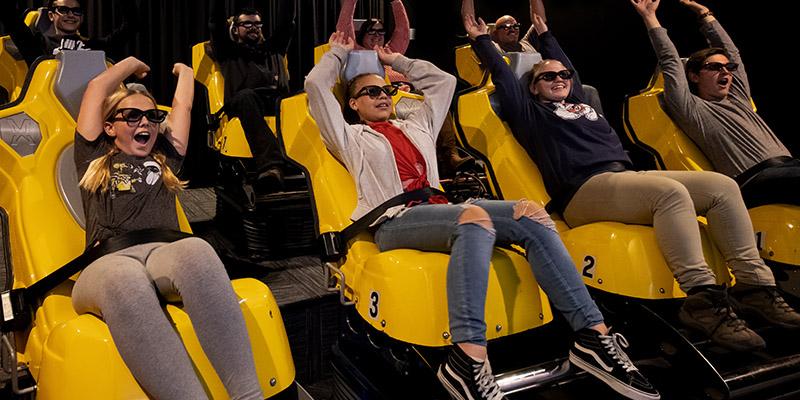 7D Dark Ride at Max Action Arena