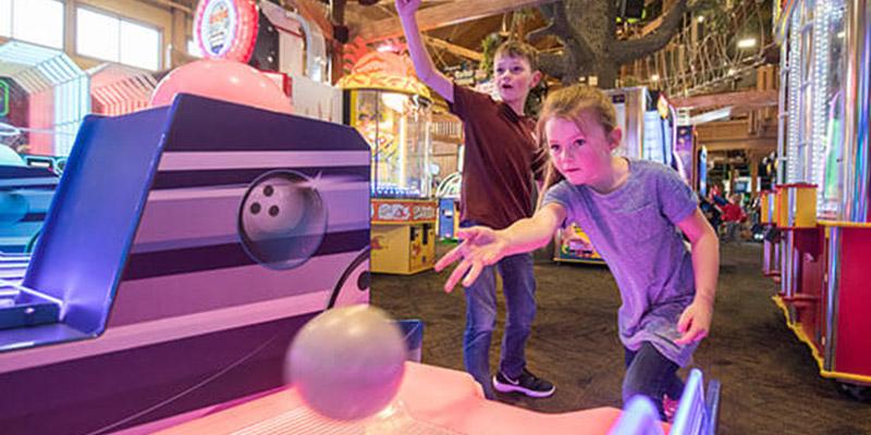 Wilderness Resort game center