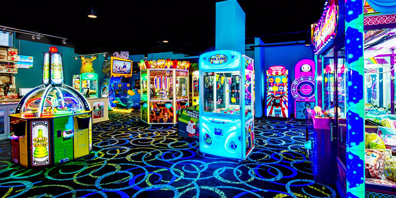 FEG custom game room design and operations at The Grove Resort & Spa