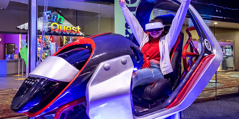 Get in the game with VR at Max Action Arena