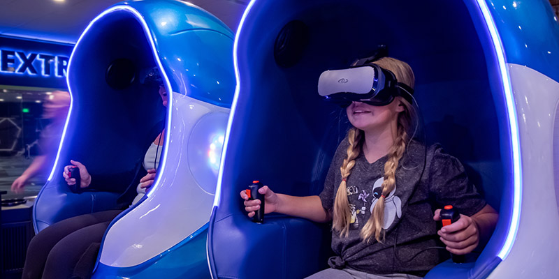 Get in the game with VR Pods at Max Action Arena