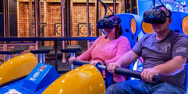 Play VR Rabbids at Max Action Arena at Grand Sierra Resort