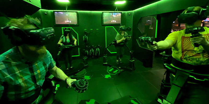 Omni directional Virtual Reality will make you feel like you're in the game
