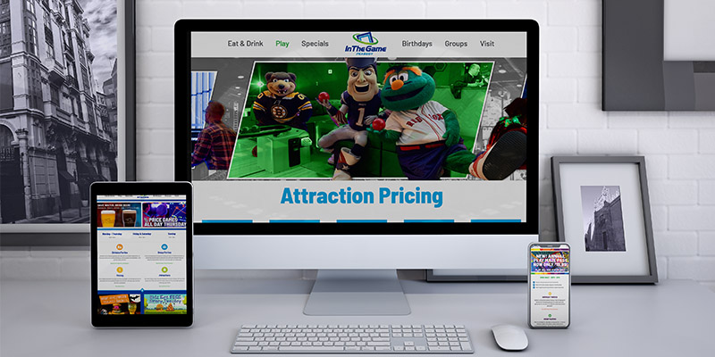Building custom websites is a service that FEG offers