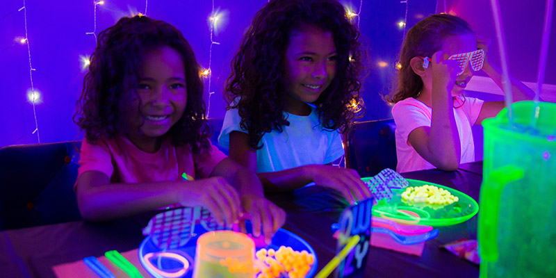 Glow parties make every party better